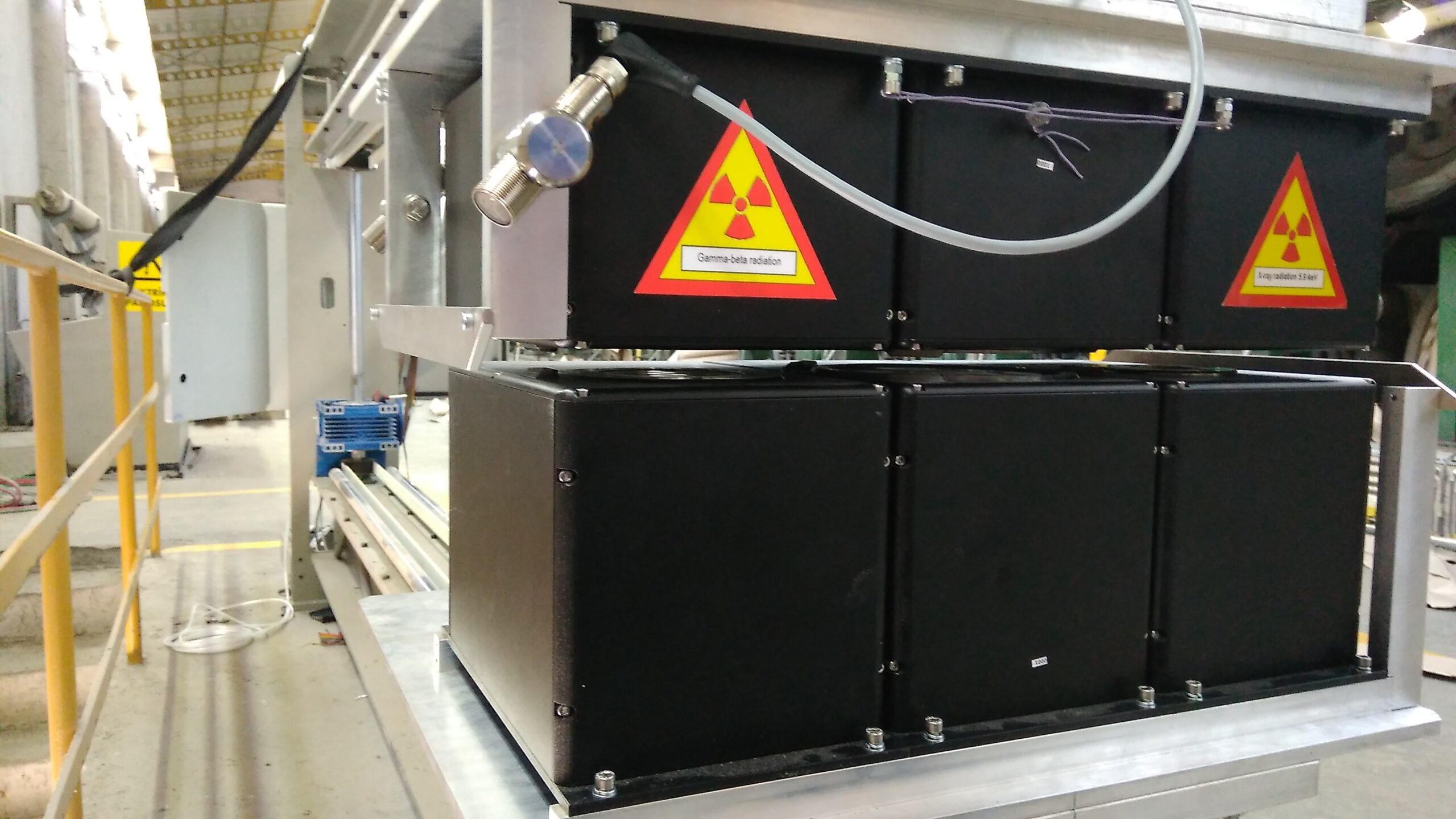 Датчик зольности A363CAN радиоизотопный